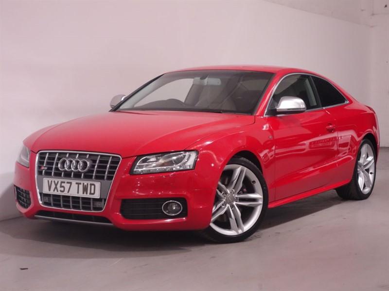 used Audi S5 S5 V8 QUATTRO - SATNAV - BANG OLUFSEN SOUND SYSTEM - HEATED SEATS - XENON in surrey