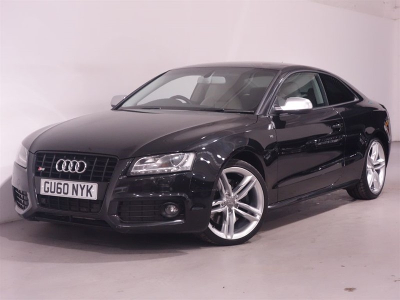 used Audi S5 S5 FSI QUATTRO - RECORDED AS A CATEGORY D - LEATHER - BLUETOOTH - LOW MILES in surrey