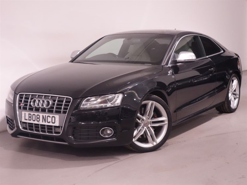 used Audi S5 S5 FSI QUATTRO-LOW MILEAGE-SAT NAV-B AND O-AUTO XENON LIGHTS in surrey