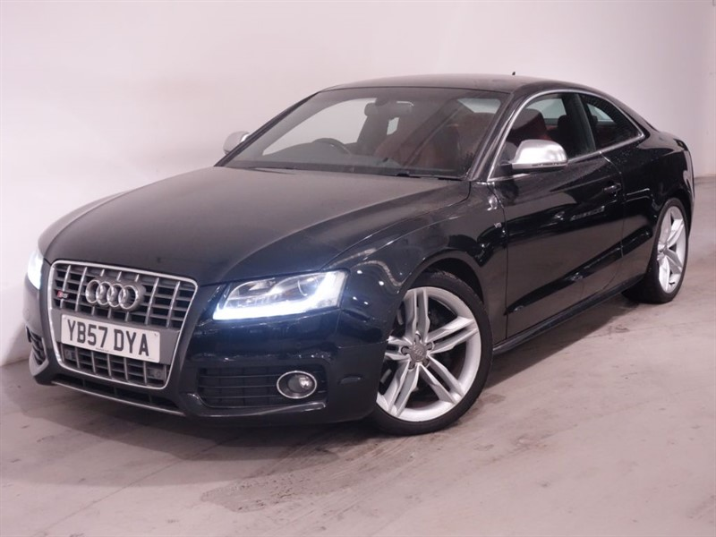 used Audi S5 S5 V8 QUATTRO - SAT NAV - BLUETOOTH - RED LEATHER - LOW MILES-KEYLESS START in surrey