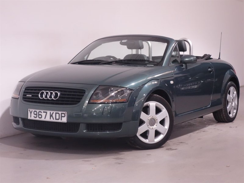 used Audi TT CONVERTIBLE - LEATHER - LOW MILES - STUNNING EXAMPLE  in surrey