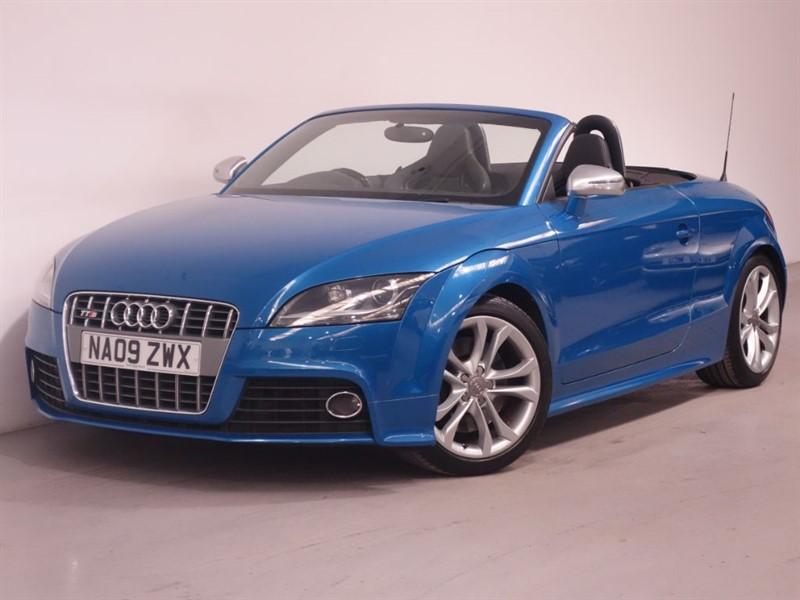 used Audi TTS TTS TFSI QUATTRO-ELECTRIC BLACK HOOD-XENONS-DRL LED-6 SPEED-FULL SERVICE in surrey