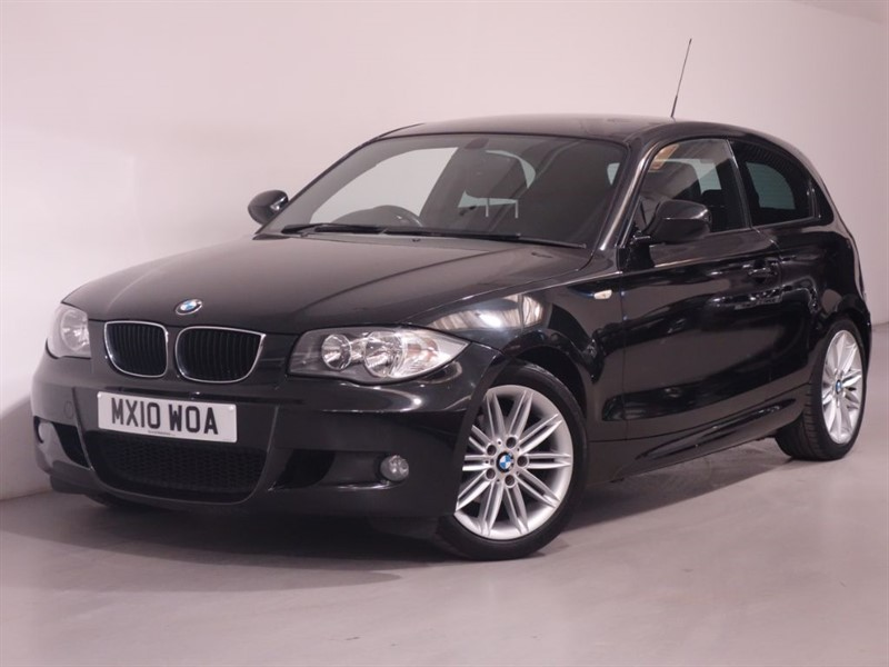 used BMW 116i M SPORT - HALF LEATHER - PARKING SENSORS - LONG MOT in surrey