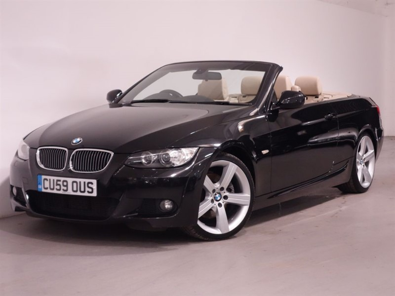 used BMW 330d M SPORT - STUNNING EXAMPLE - FULL LEATHER - BLUETOOTH - SAT NAV in surrey