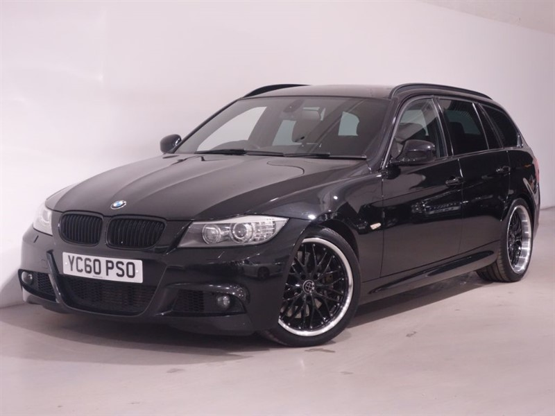 used BMW 335d M SPORT TOURING - LEATHER - BLUETOOTH - STUNNING EXAMPLE in surrey