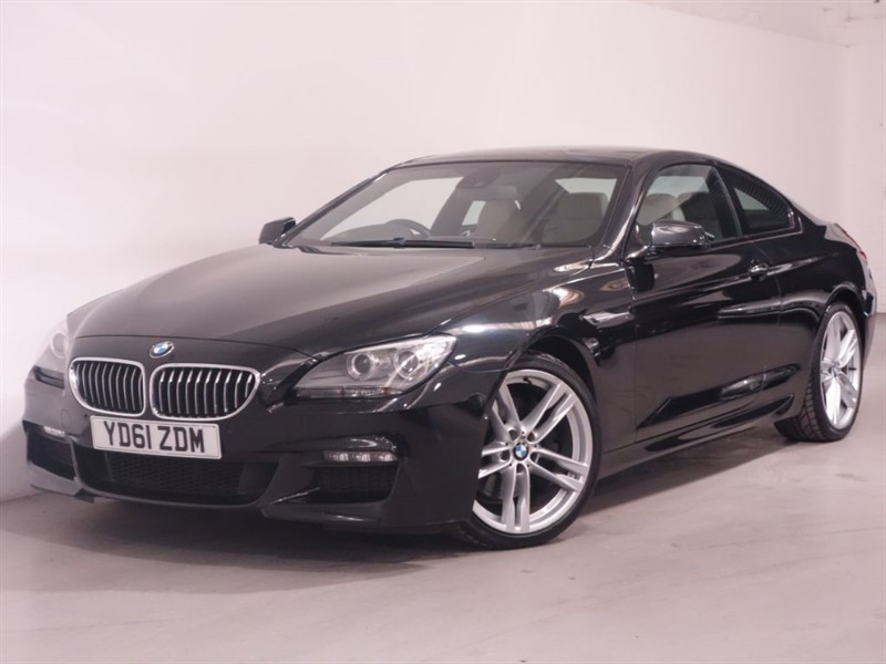 used BMW 640d M SPORT - REVERSE CAMERA - PAN ROOF - SAT NAV - LOW MILES - TOP SPEC in surrey