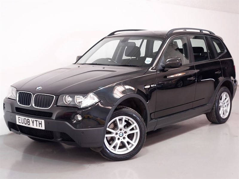 used BMW X3 D SE - 12 MONTHS MOT VERY EFFICIENT 48MPG - STUNNING in surrey