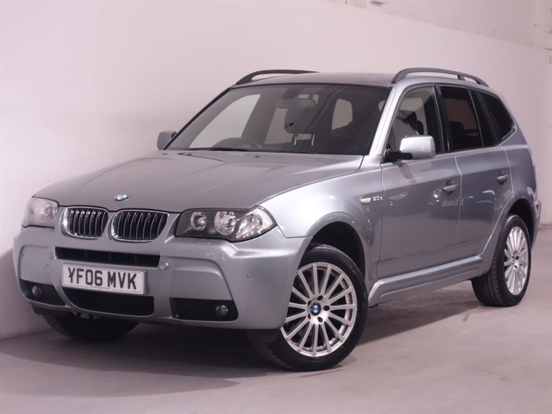 used BMW X3 D M SPORT - AUTOMATIC - LEATHER - FSH in surrey