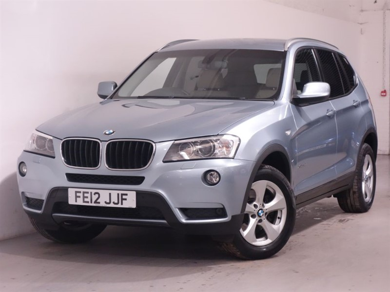 used BMW X3 XDRIVE20D SE - SATNAV - DAB - 4WD - AUTO - LEATHER - HEATED SEATS -  in surrey