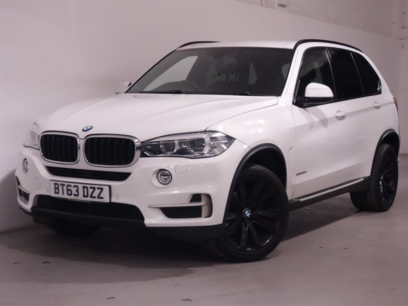 used BMW X5 XDRIVE25D SE - SATNAV - DAB - RCAM - AUTO - 20INCH ALLOYS - SIDE STEPS in surrey