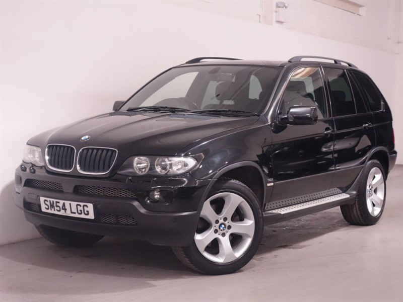 "used BMW X5 SPORT 24V-3LTR RARE PETROL-LOW MILEAGE-19"" ALLOYS in surrey"