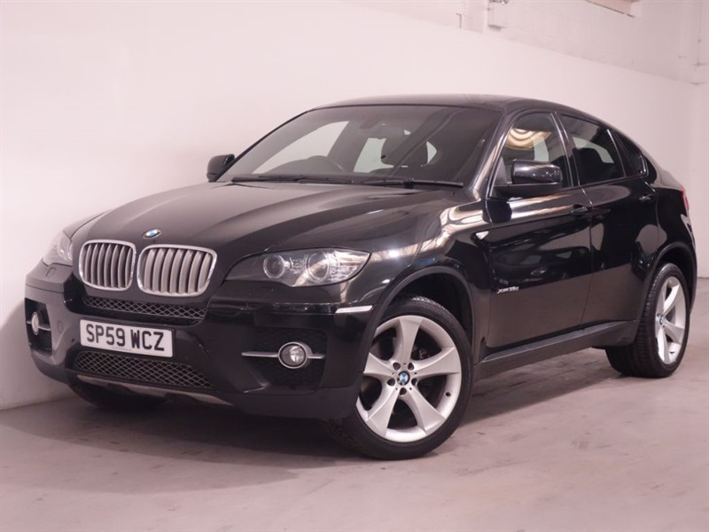 used BMW X6 XDRIVE35D | SATNAV PRO | NEVADA LEATHER |  BLUETOOTH |  in surrey