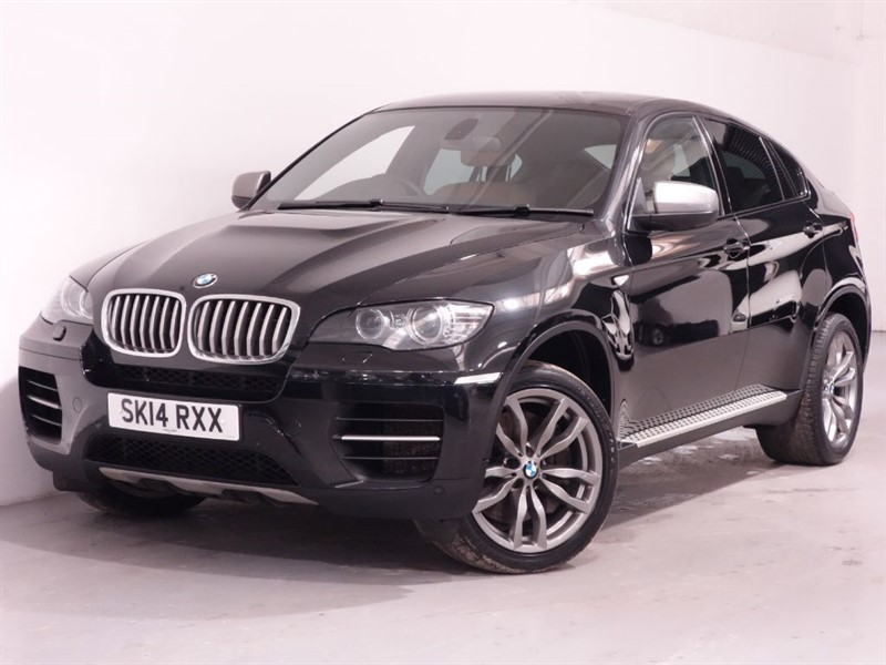 used BMW X6 M M 50D - 5 SEATER - REVERSE CAMERA - UNMARKED LEATHER - 373 BHP in surrey