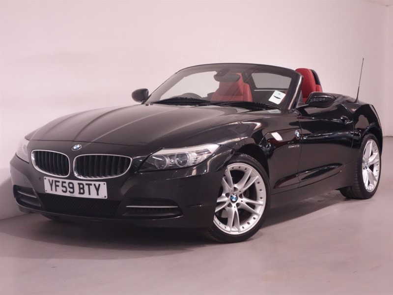 used BMW Z4 SDRIVE23I ROADSTER-AUTO-HEATED SEATS-PARKING SENSORS-HI FI SOUND-EX BMW DEM in surrey