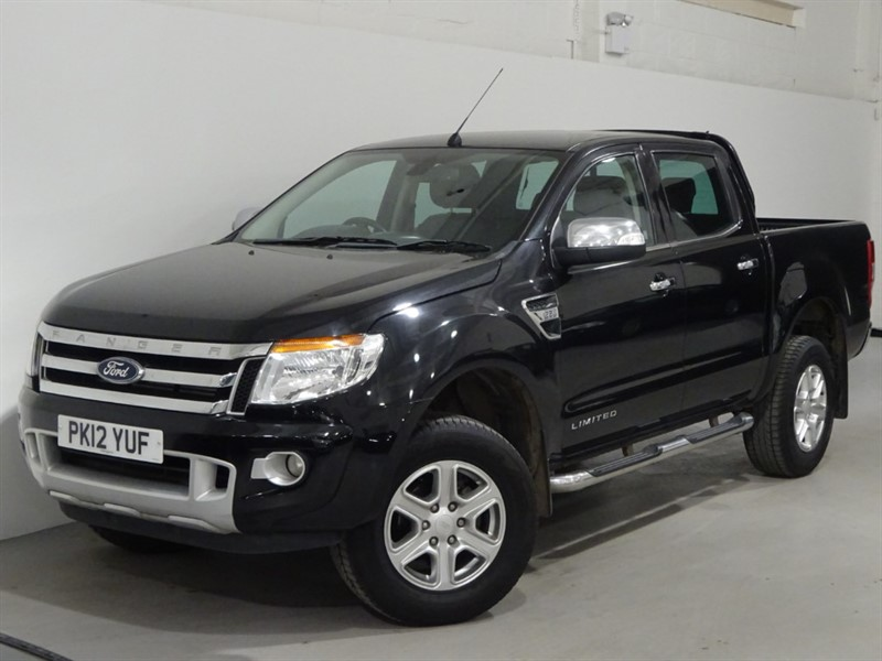 used Ford Ranger LIMITED 4X4 DCB TDCI in surrey
