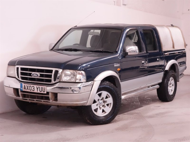 used Ford Ranger XLT 4X4 TD - NO VAT - REAR CANOPY - UPRATED STEREO in surrey