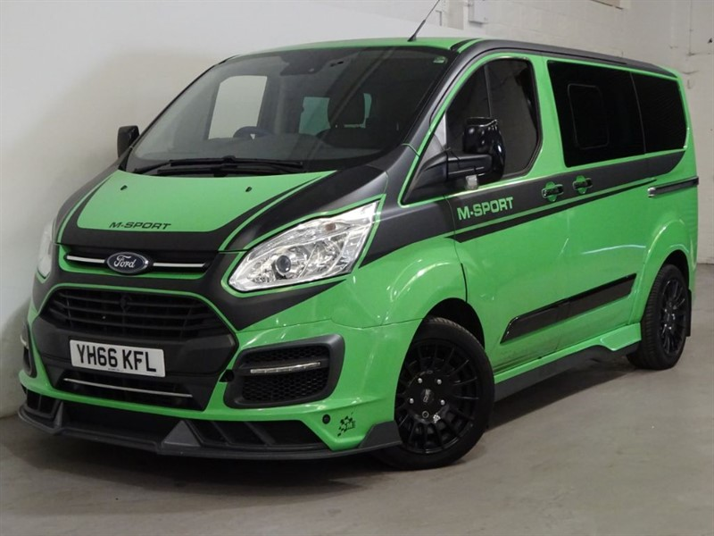 used Ford Transit Custom 290 LIMITED LR DCB in surrey