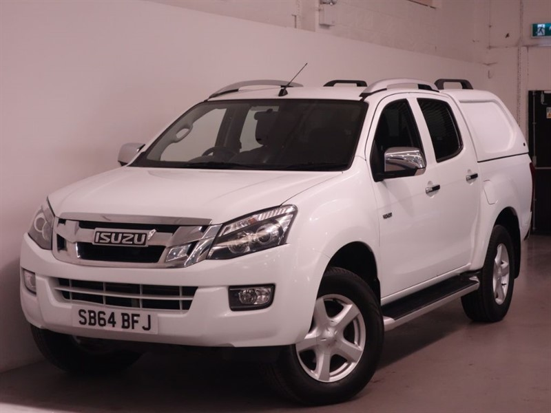 used Isuzu D-Max TD YUKON VISION DCB - NO VAT - LOW MILES - SAT NAV - BLUETOOTH in surrey