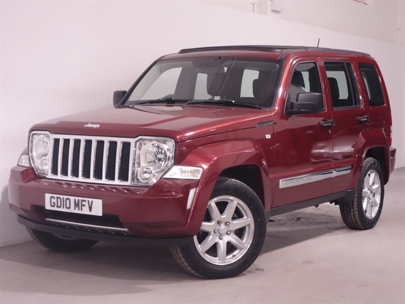 used Jeep Cherokee LIMITED-AUTO-SATNAV-HEATED SEATS-LEATHER-AIRCON-1 OWNER FROM NEW- in surrey
