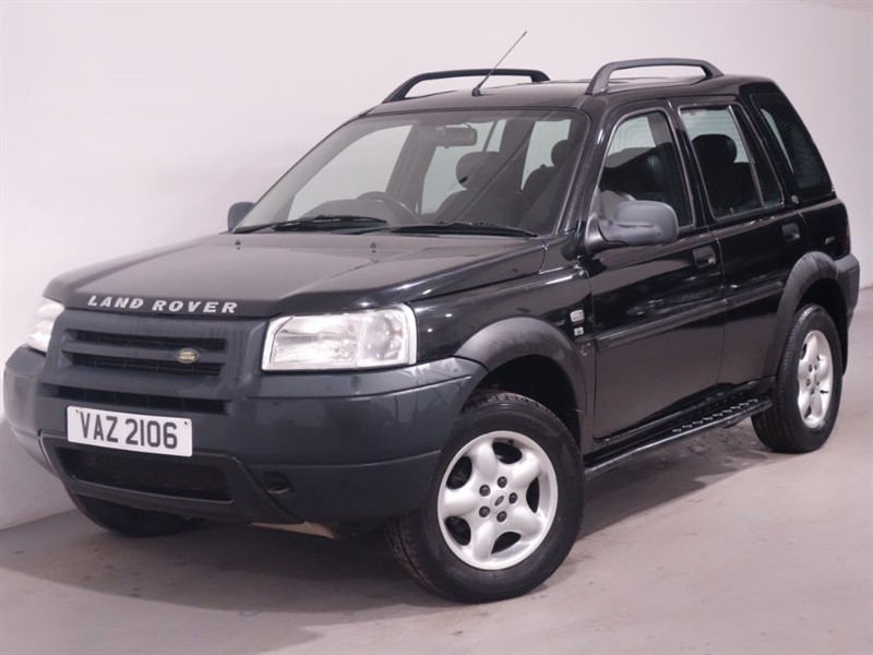used Land Rover Freelander TD4 ES STATION WAGON-AUTOMATIC-LEATHER INTERIOR-SUNROOF-SIDE STEPS in surrey
