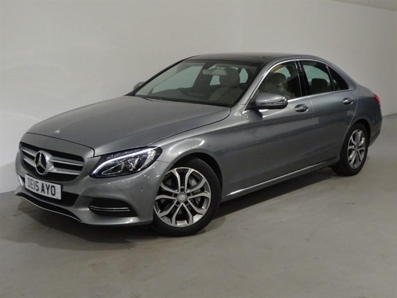 used Mercedes C250 BLUETEC SPORT PREMIUM in surrey