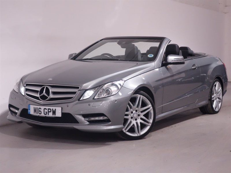 used Mercedes E220 E220 SPORT CDI BLUE - SAT NAV - BLUETOOTH - LOW MILES - STUNNING EXAMPLE in surrey