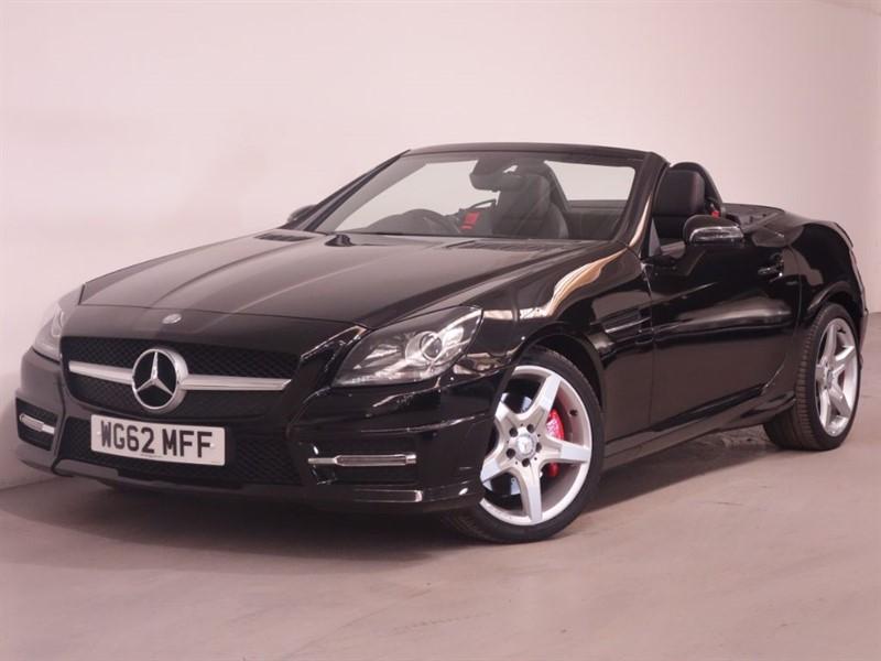 used Mercedes SLK SLK250 CDI BLUEEFFICIENCY AMG SPORT - TOP SPEC - LOW MILES - SAT NAV in surrey