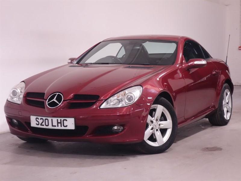 used Mercedes SLK SLK280-SATNAV-HEATED SEATS-AIRSCARF-LEATHER-AUTO 7 SPEED-FSH in surrey