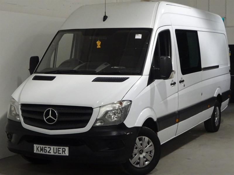 used Mercedes Sprinter 313 CDI High Roof LWB 6 Seater Crewcab NO VAT in surrey