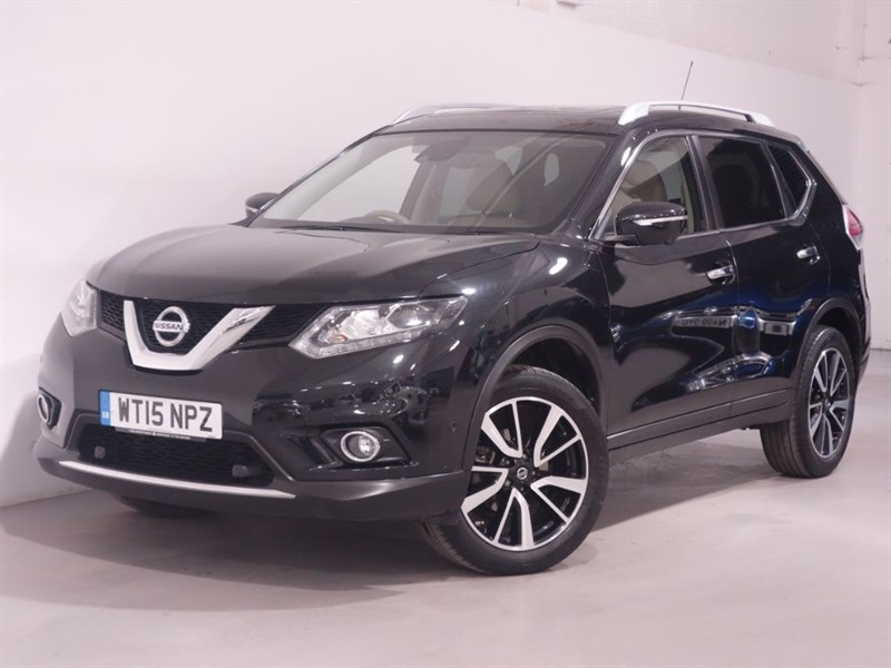 used Nissan X-Trail DCI TEKNA - PANO ROOF - SATNAV - 360 CAM - AUTO PARK - 1 OWNER FROM NEW in surrey