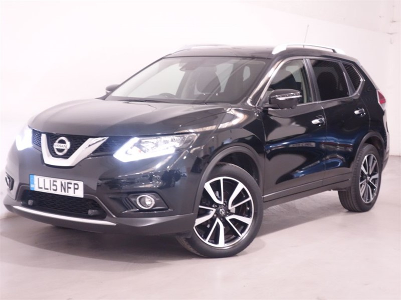 used Nissan X-Trail DCI N-TEC XTRONIC - LOW MILES - 360 HD CAMERA - PAN ROOF - SAT NAV  in surrey