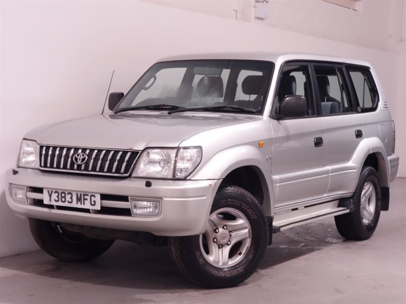 used Toyota Land Cruiser GX 7-SEATS D-4D - STUNNING EXAMPLE - DIFF LOCK - HIGH AND LOW GEAR RATIO  in surrey