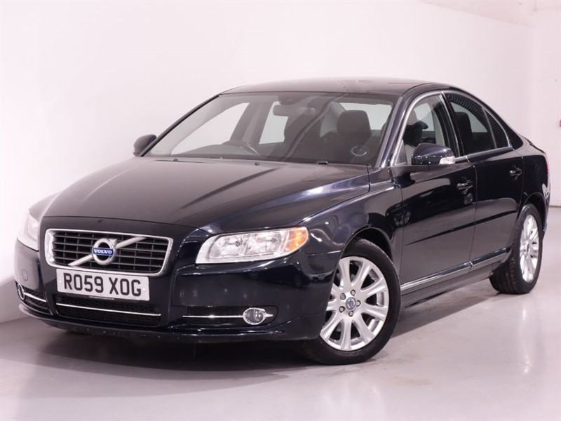used Volvo S80 D SE - 1 OWNER FROM NEW - ULTRA LOW MILES - PARKING SENSORS - BLUETOOTH in surrey