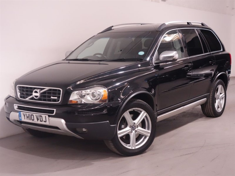 used Volvo XC90 D5 R-DESIGN SE AWD - LEATHER - LOW MILES - PARKING SENSORS in surrey