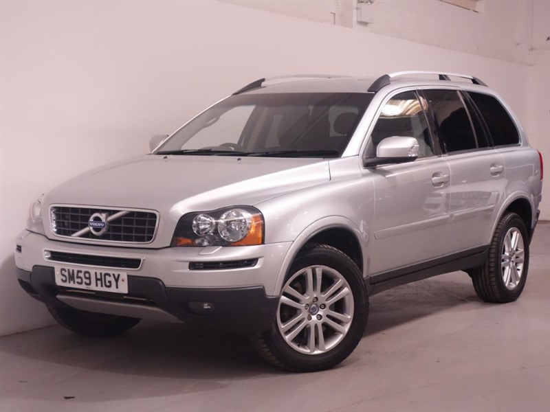 used Volvo XC90 D5 SE AWD - 1 OWNER - MAIN DEALER SERVICE HISTORY - LEATHER - DVD PLAYER  in surrey
