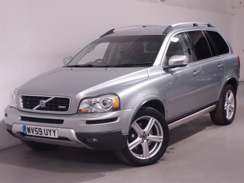 used Volvo XC90 D5 R-DESIGN SE AWD - LOW MILES - LEATHER - ENTERTAINMENT PACKAGE  in surrey