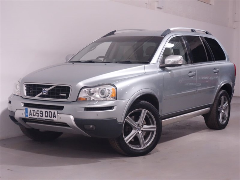 used Volvo XC90 D5 R-DESIGN SE PREMIUM AWD - SAT NAV - LEATHER - PARKING SENSORS in surrey