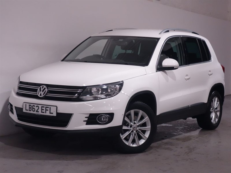 used VW Tiguan SE TDI BLUEMOTION TECHNOLOGY | 4MOTION 4x4 | AUTO DSG | ONE OWNER | FVSH in surrey
