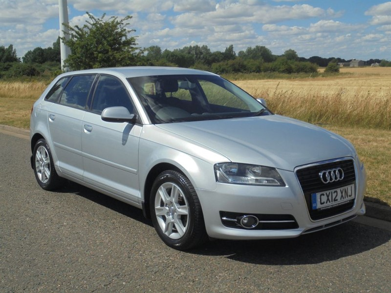 used Audi A3 SPORTBACK TDI SE in march-cambridgeshire