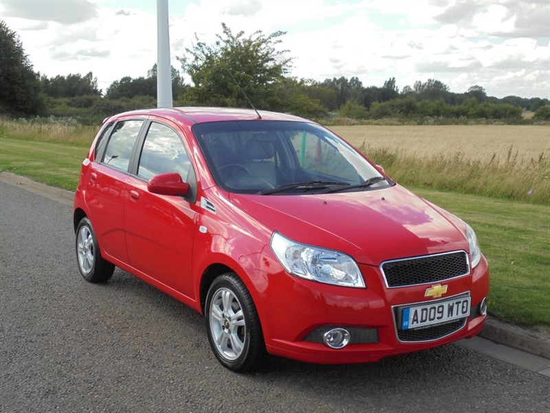 used Chevrolet Aveo LT in march-cambridgeshire