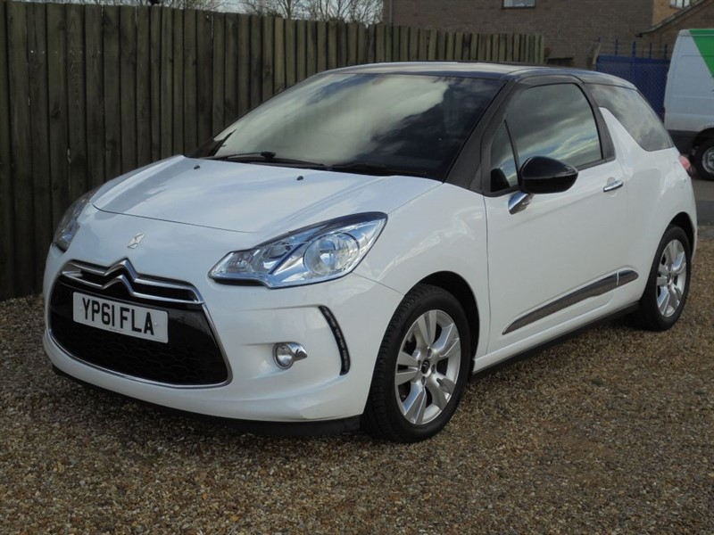 used Citroen DS3 E-HDI DSTYLE in march-cambridgeshire
