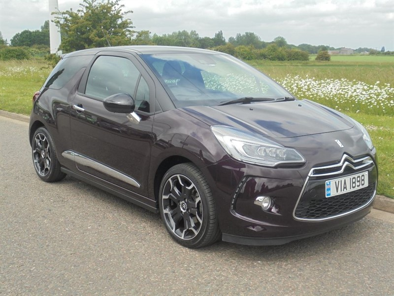 used Citroen DS3 BLUEHDI DSPORT in march-cambridgeshire