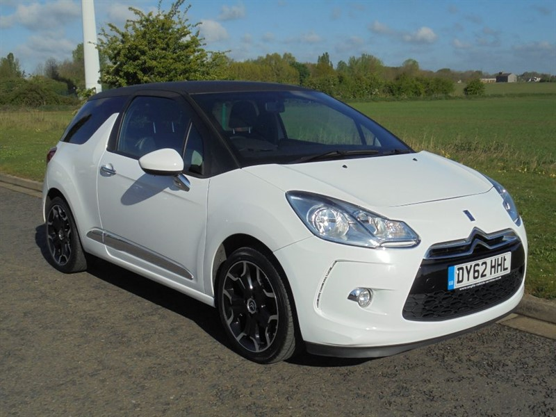 used Citroen DS3 DSIGN in march-cambridgeshire