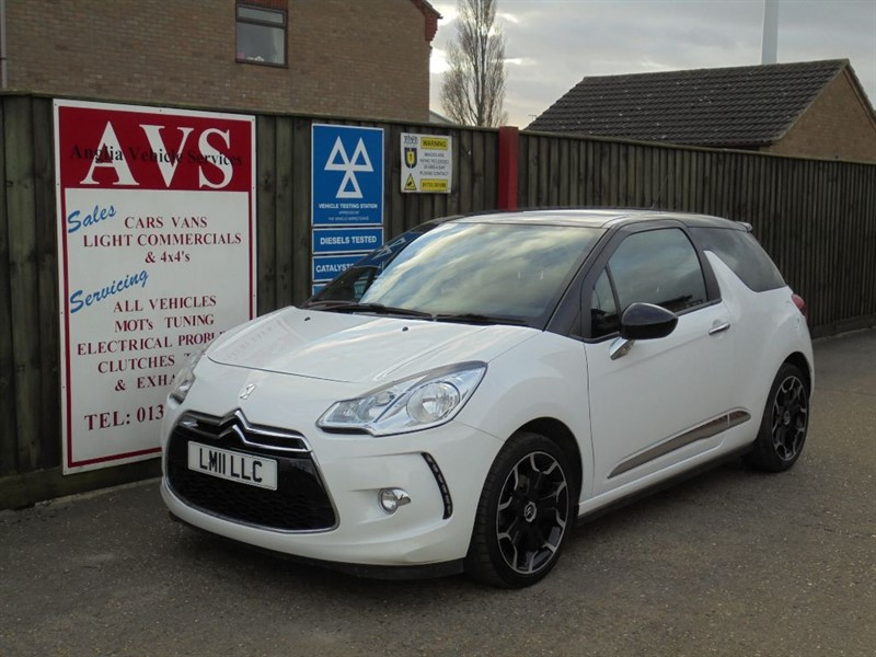 used Citroen DS3 DSPORT in march-cambridgeshire