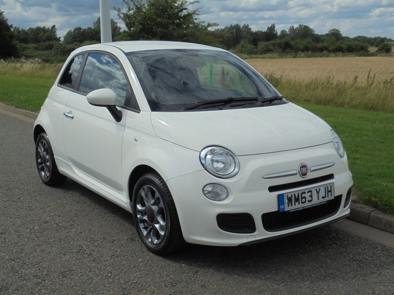 used Fiat 500 S in march-cambridgeshire