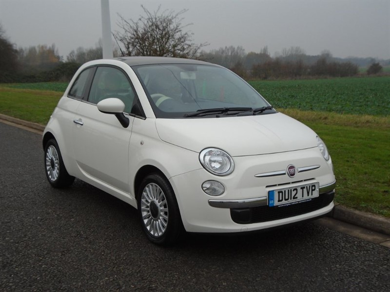 used Fiat 500 LOUNGE in march-cambridgeshire