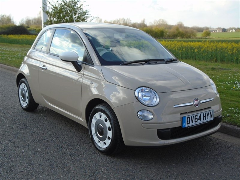 used Fiat 500 COLOUR THERAPY in march-cambridgeshire