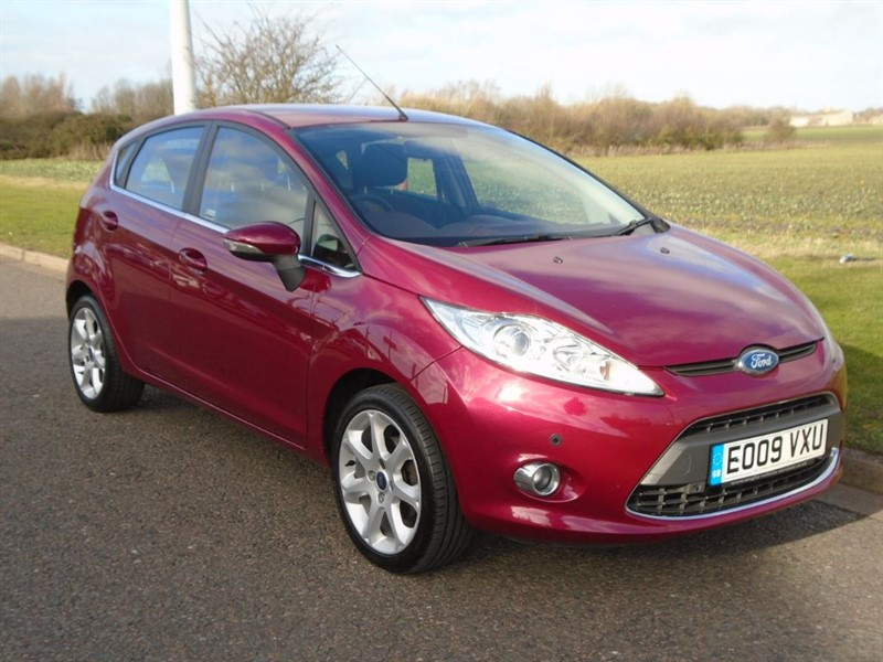 used Ford Fiesta ZETEC TDCI in march-cambridgeshire