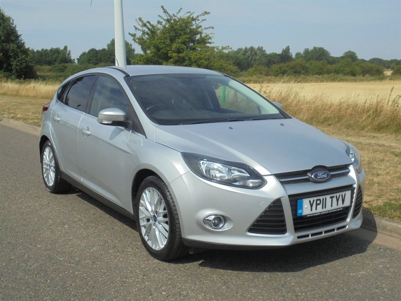 used Ford Focus ZETEC in march-cambridgeshire