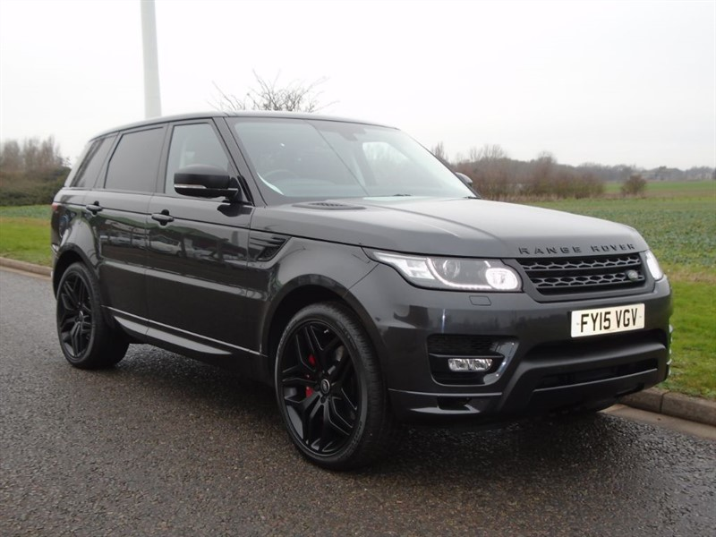 used Land Rover Range Rover Sport SDV6 AUTOBIOGRAPHY DYNAMIC in march-cambridgeshire